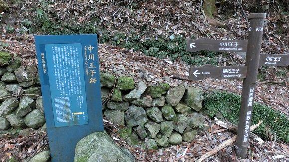 中川王子跡