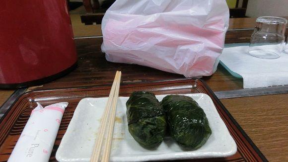 三軒茶屋さんのめはり寿司